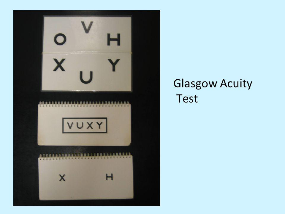 Glasgow Acuity Test