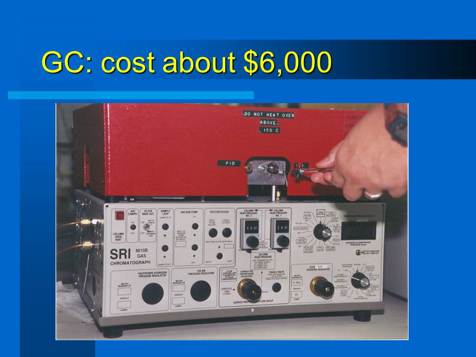 GC: cost about $6,000