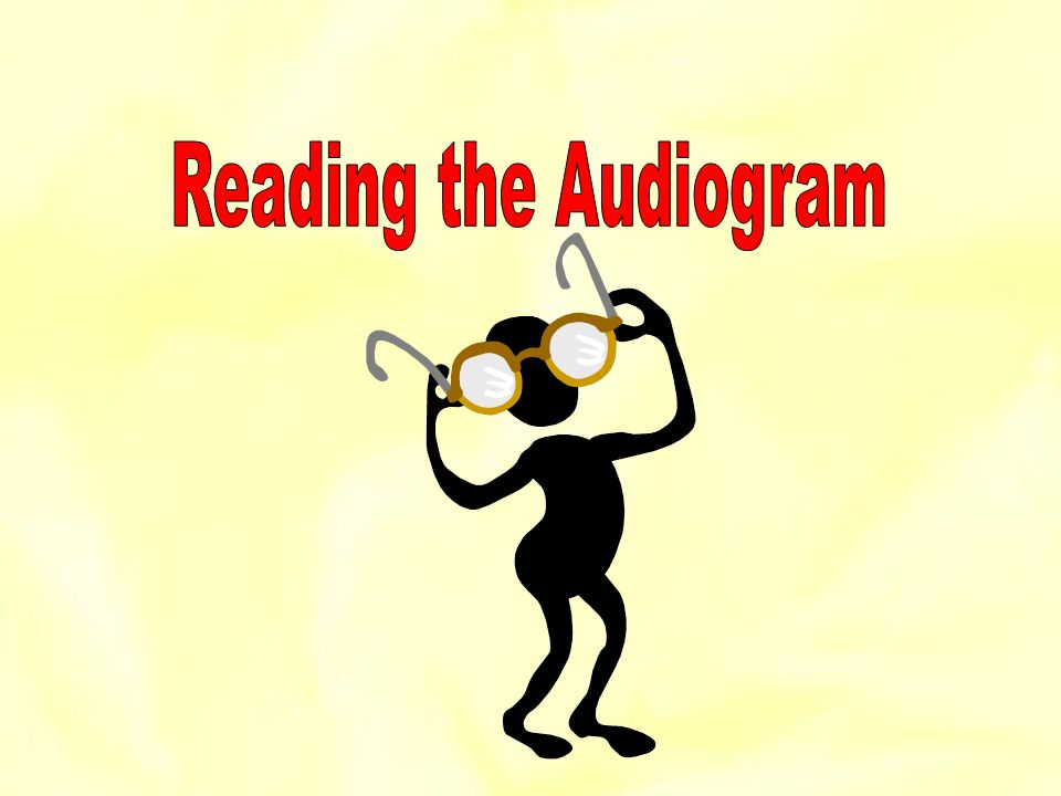 Reading the Audiogram