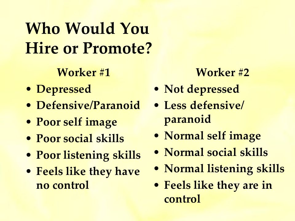 Who Would You Hire or Promote