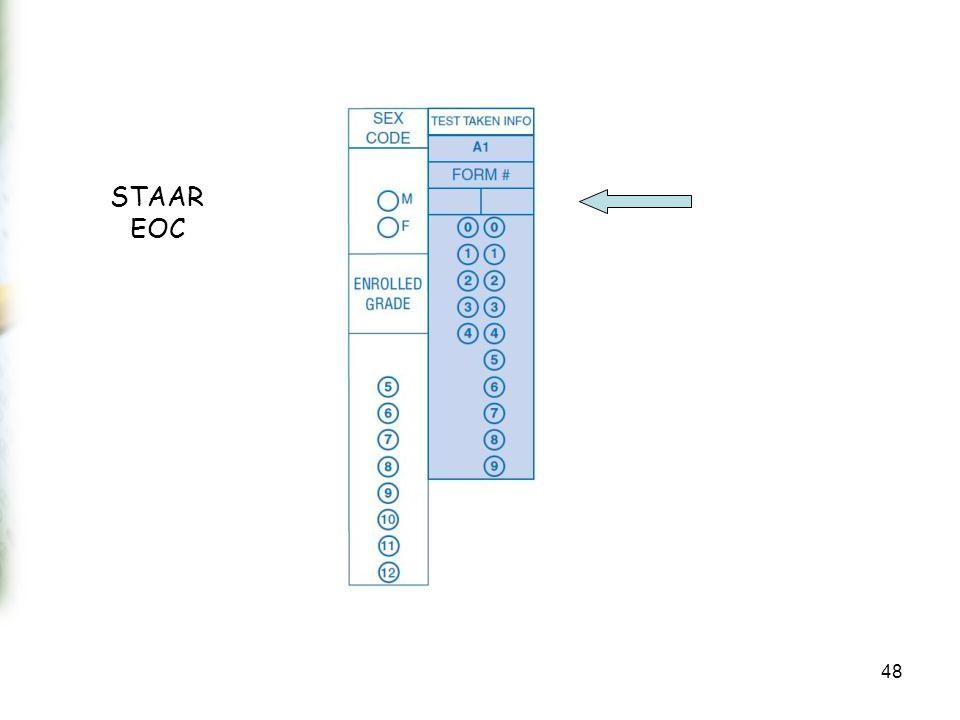 STAAR EOC 48
