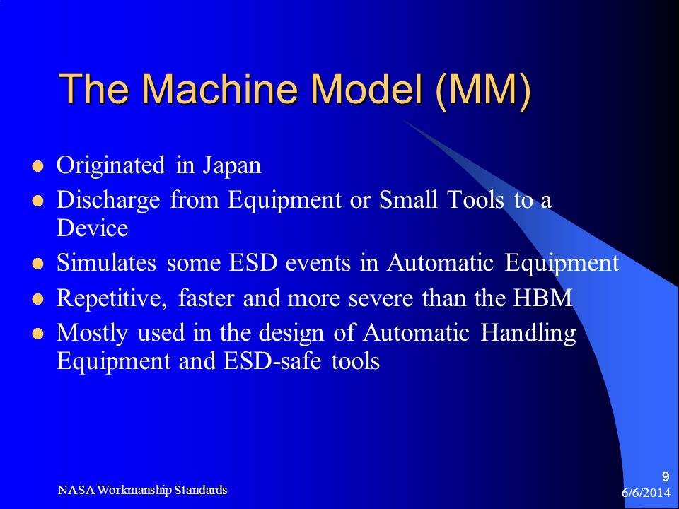 The Machine Model (MM) Originated in Japan