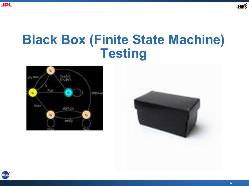 Black Box (Finite State Machine) Testing