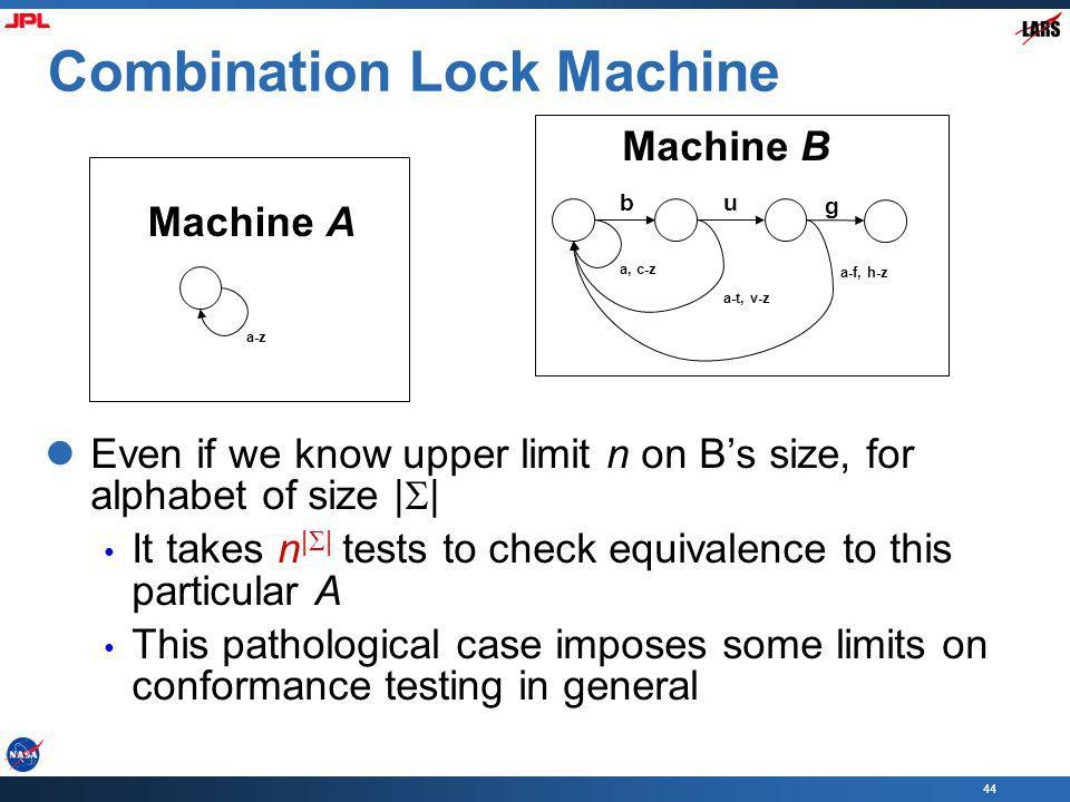 Combination Lock Machine