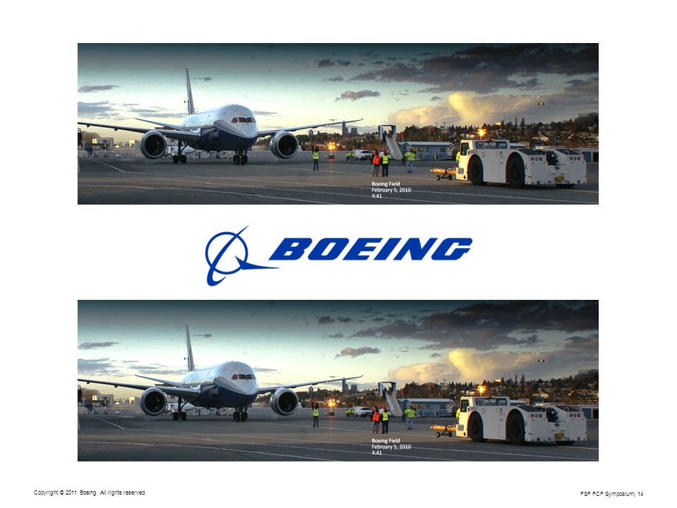 Copyright © 2011 Boeing. All rights reserved.