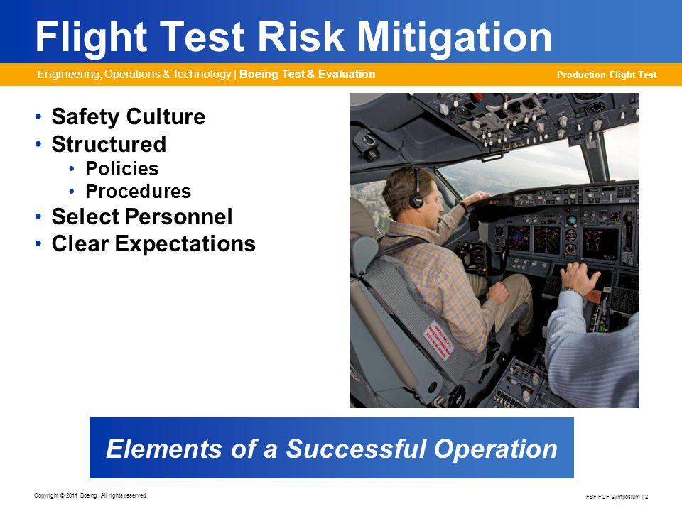 Flight Test Risk Mitigation
