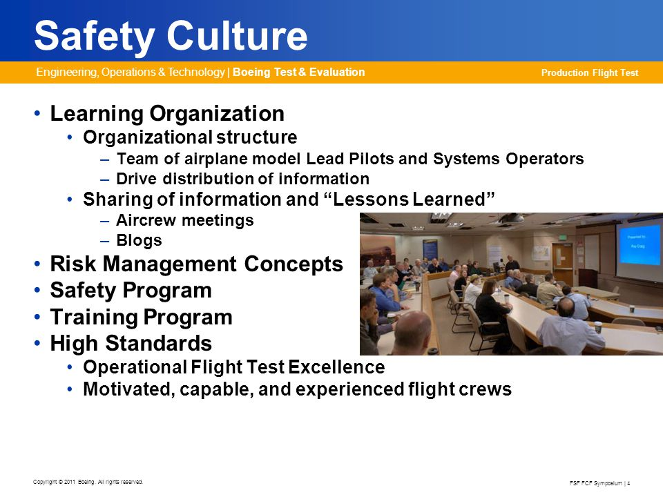 Safety Culture Learning Organization Risk Management Concepts
