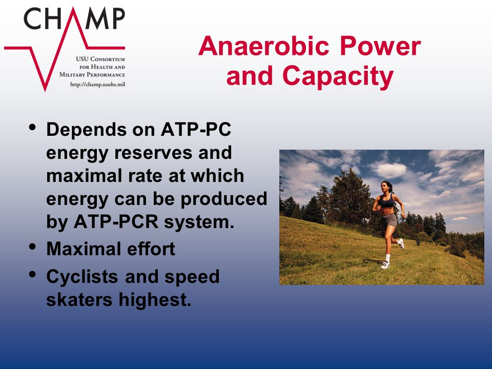 Anaerobic Power and Capacity