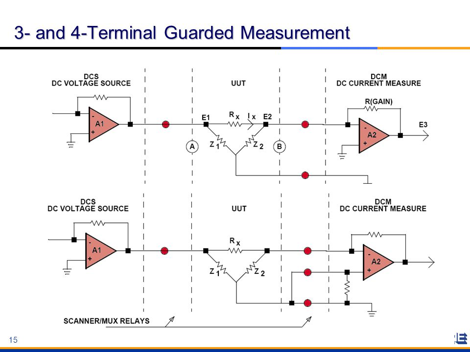 3- and 4-Terminal Guarded Measurement