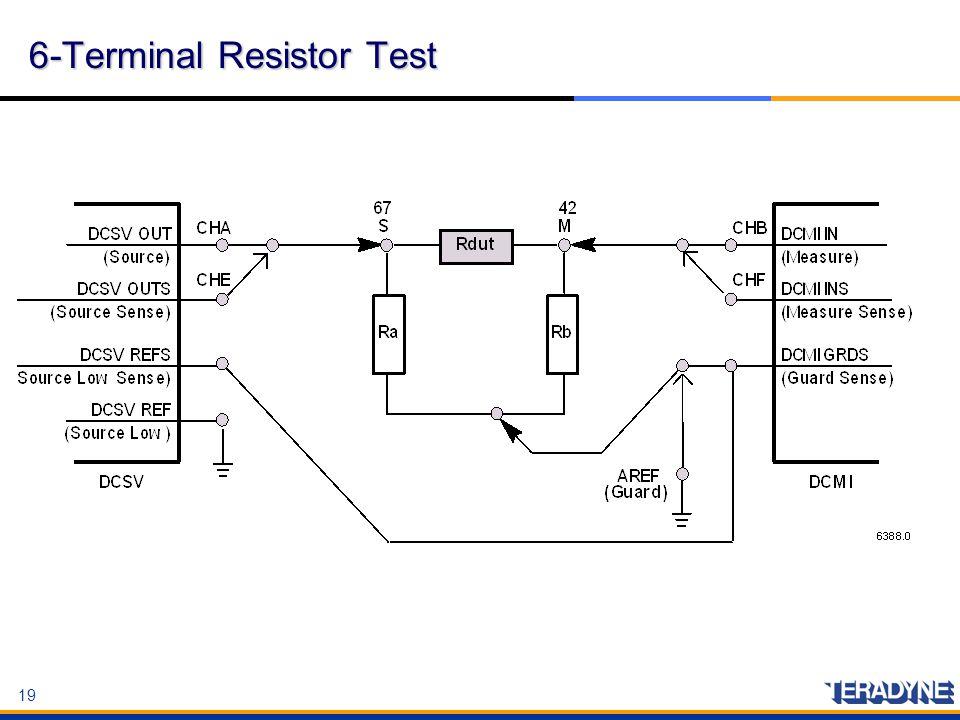 6-Terminal Resistor Test