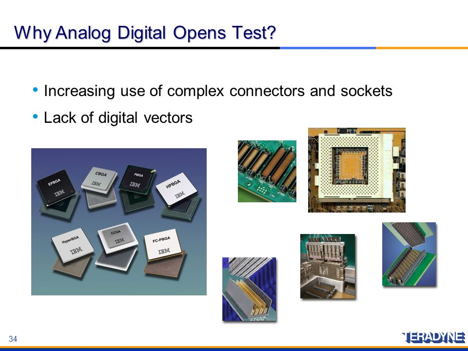 Why Analog Digital Opens Test