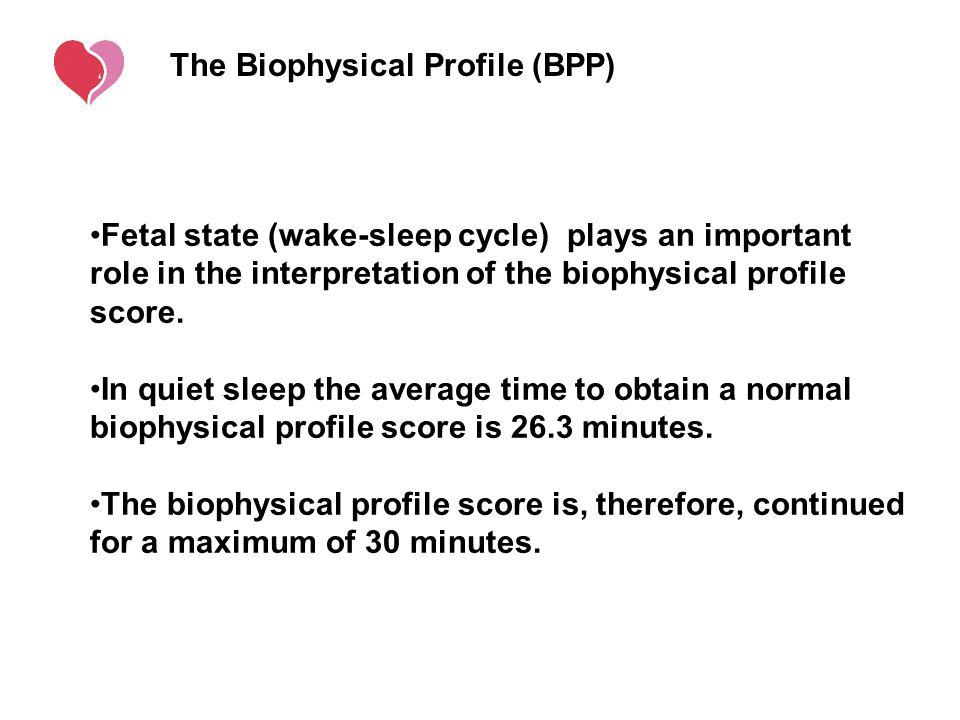 The Biophysical Profile (BPP)