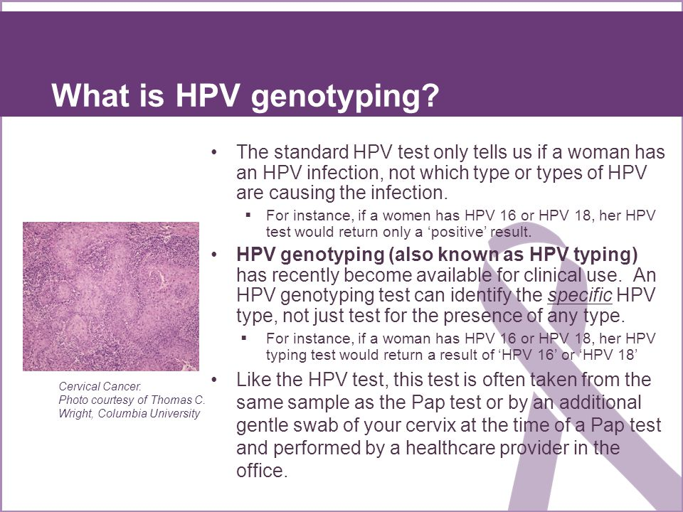 What is HPV genotyping
