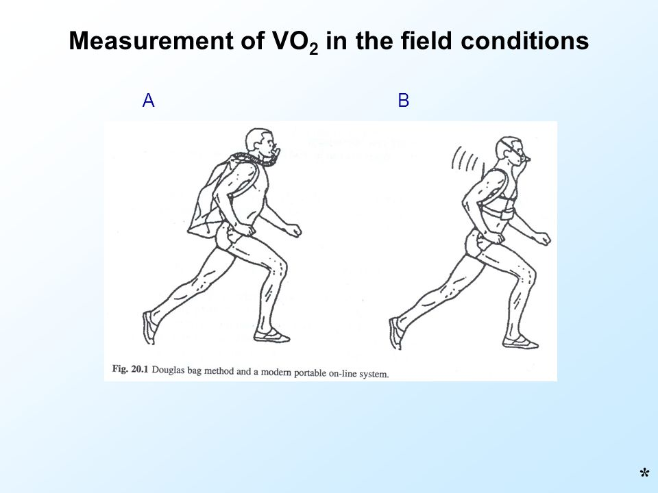 Measurement of VO2 in the field conditions