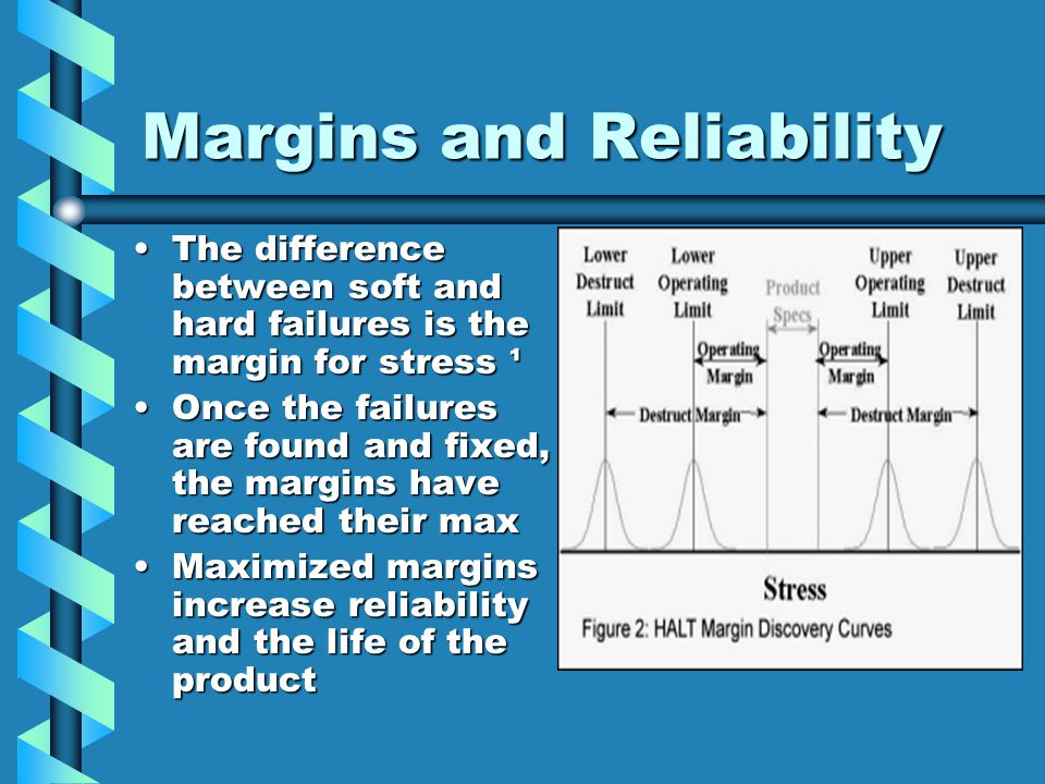 Margins and Reliability