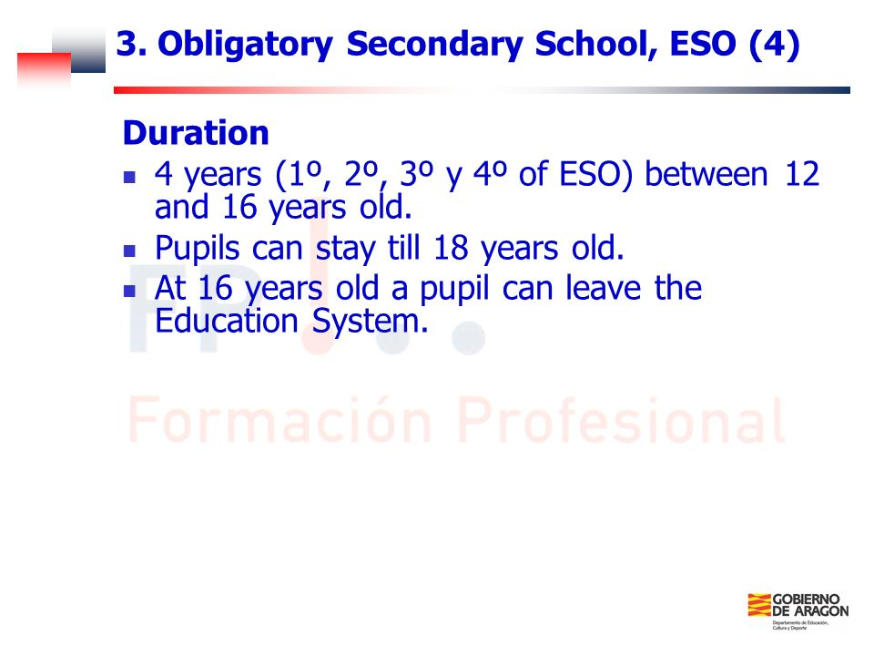 3. Obligatory Secondary School, ESO (4)