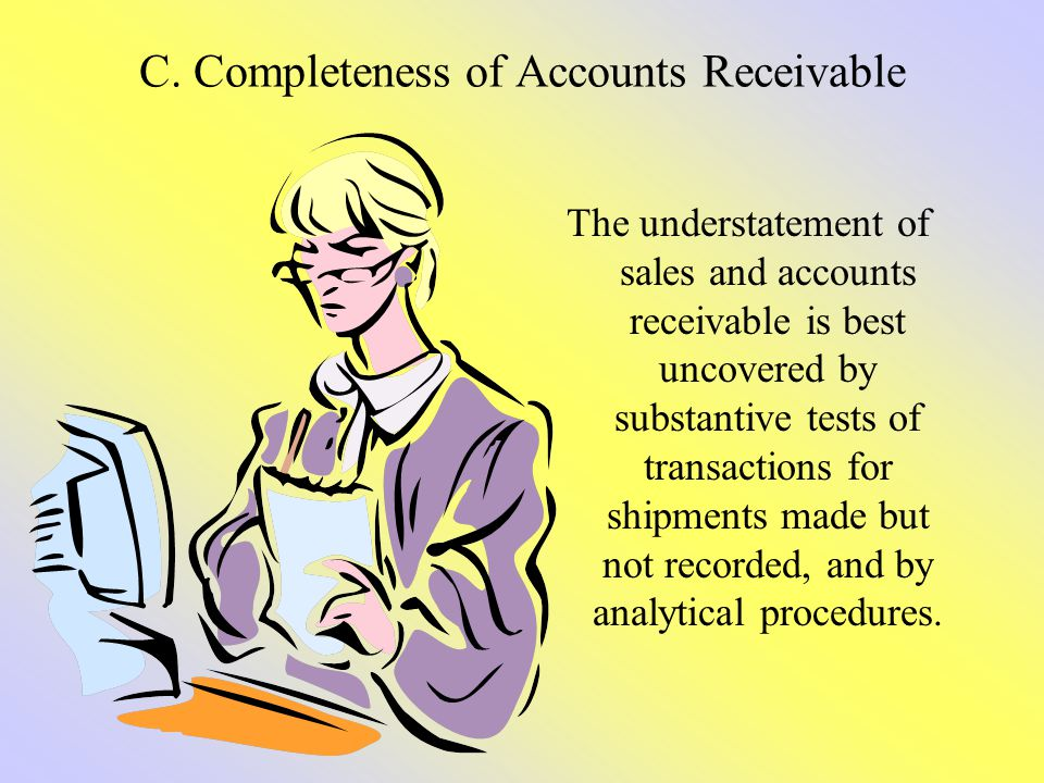 C. Completeness of Accounts Receivable