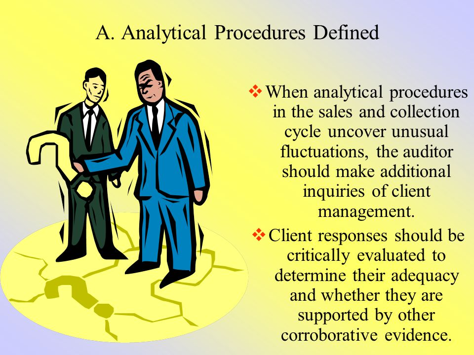 A. Analytical Procedures Defined