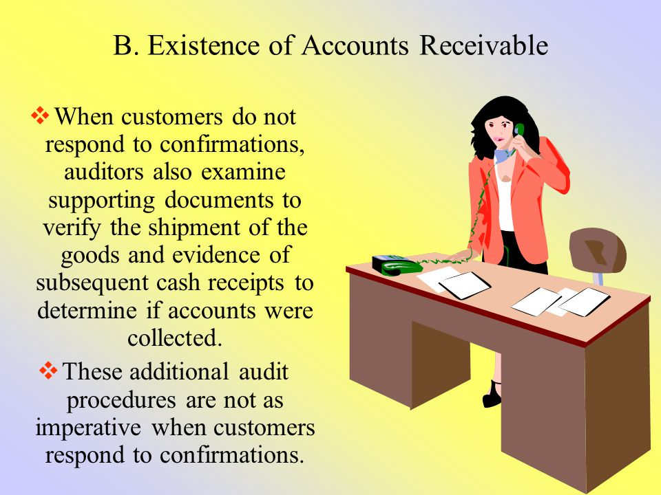 B. Existence of Accounts Receivable