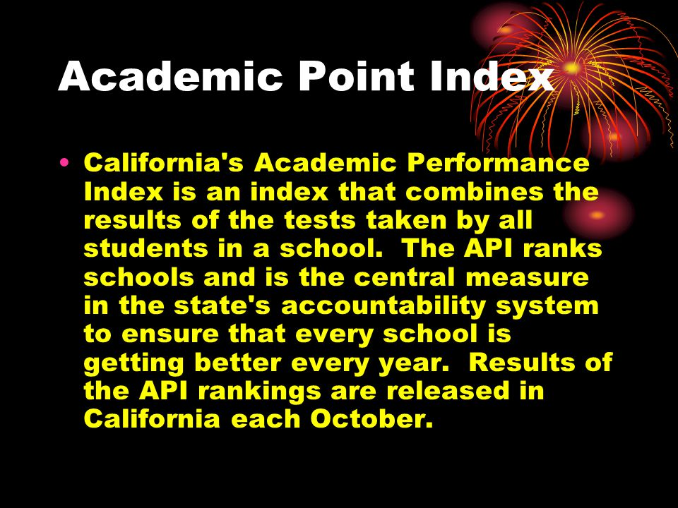 Academic Point Index