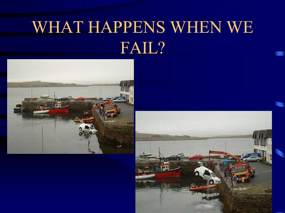 WHAT HAPPENS WHEN WE FAIL