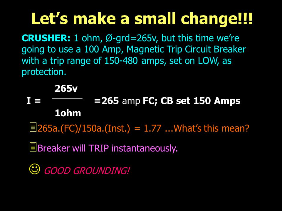 Let's make a small change!!!