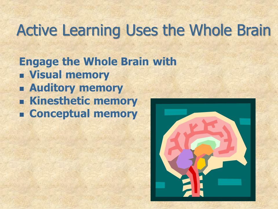 Active Learning Uses the Whole Brain