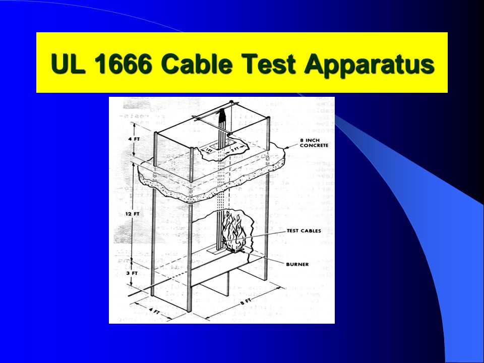 UL 1666 Cable Test Apparatus
