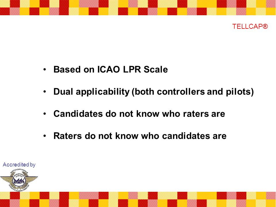 Dual applicability (both controllers and pilots)