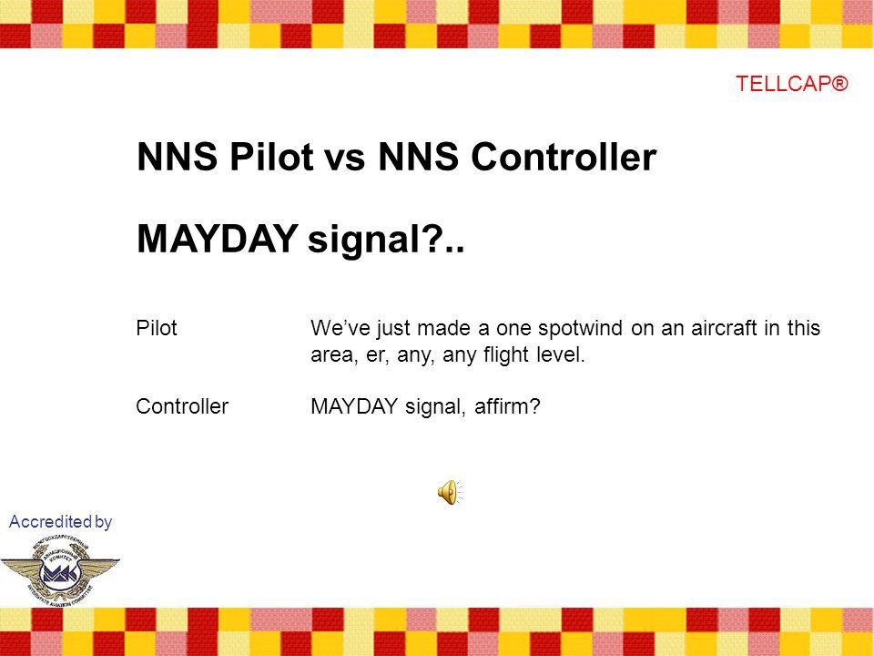 NNS Pilot vs NNS Controller MAYDAY signal ..