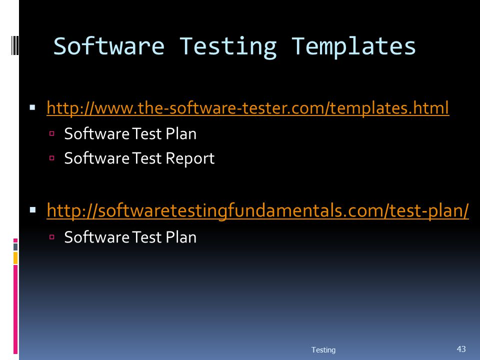 software testing proposal template - software testing testing ppt download
