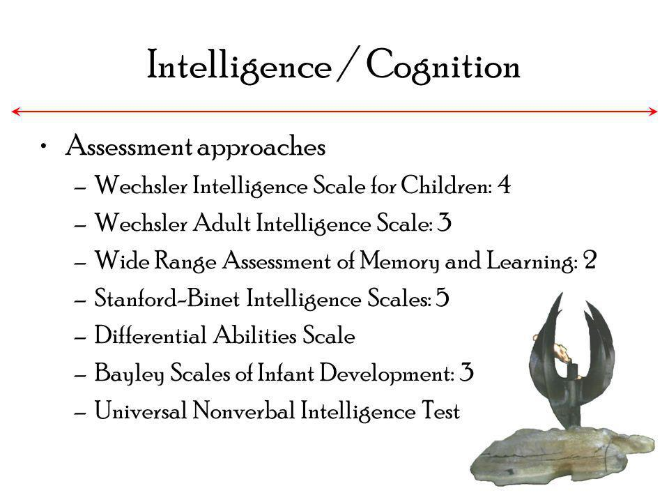 Intelligence / Cognition