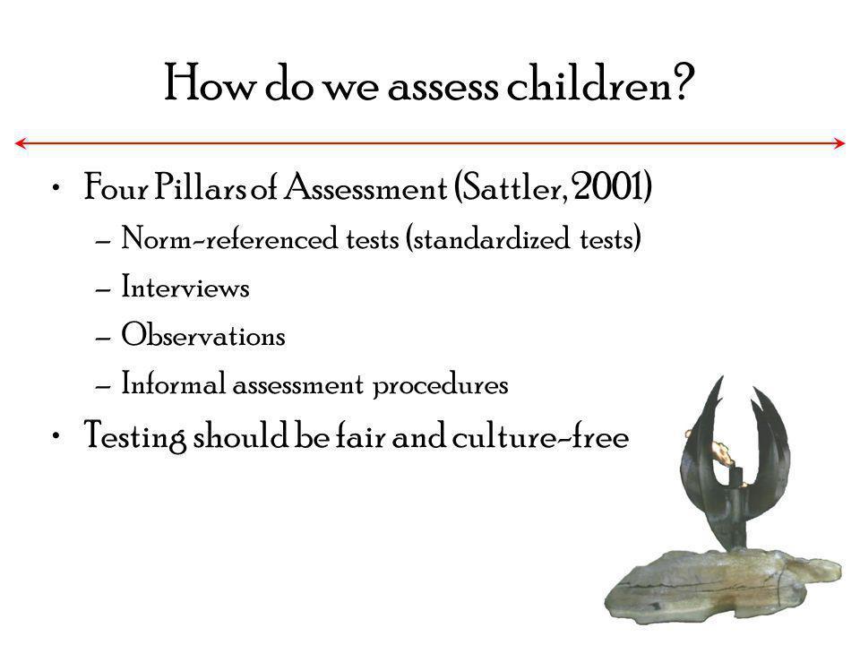 How do we assess children