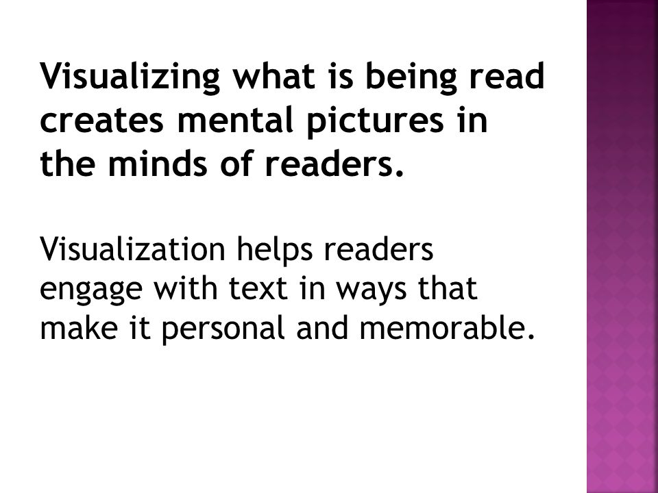 Visualizing what is being read