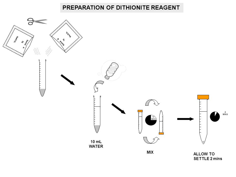 PREPARATION OF DITHIONITE REAGENT
