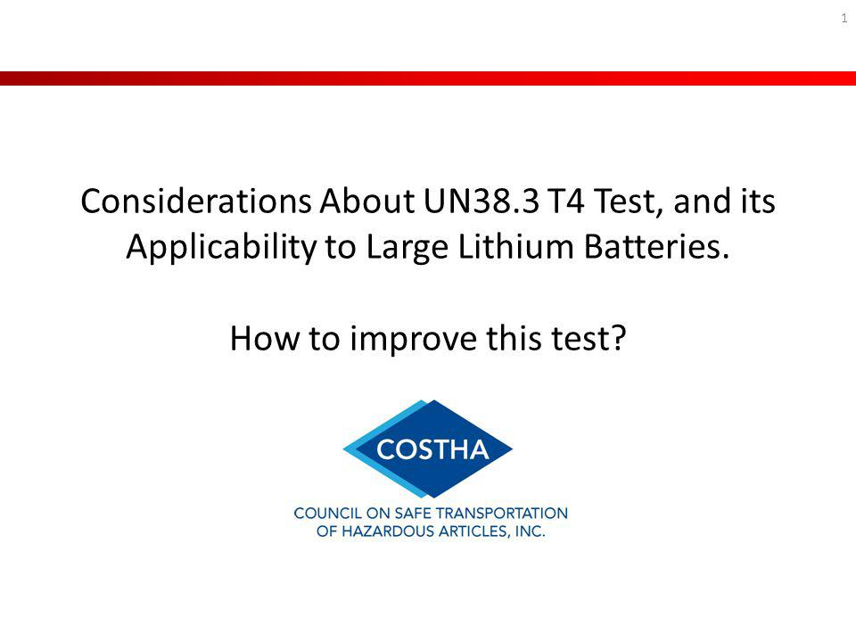 Considerations About UN38