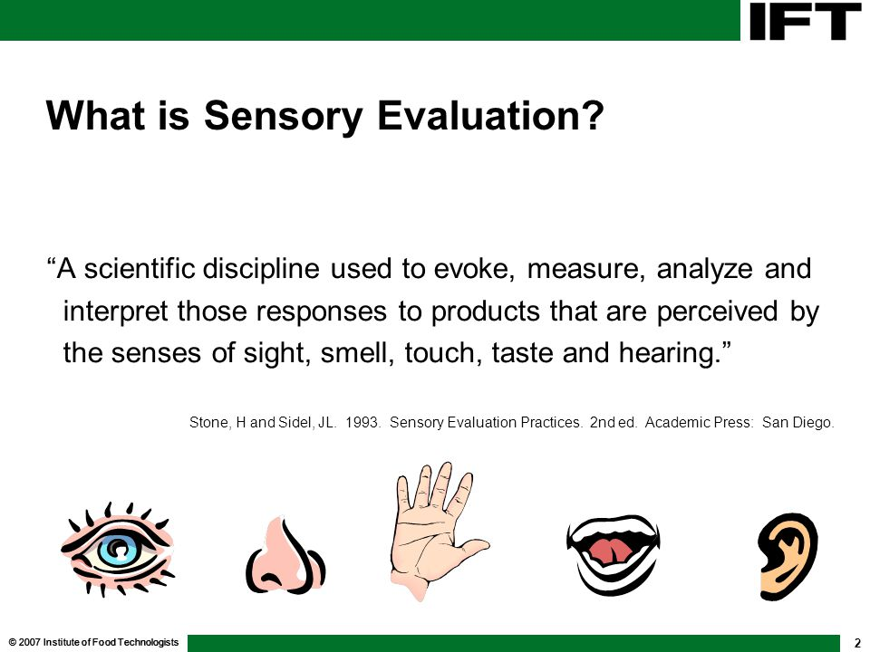 What is Sensory Evaluation