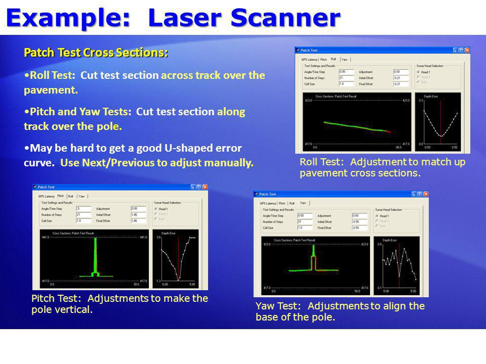 Example: Laser Scanner