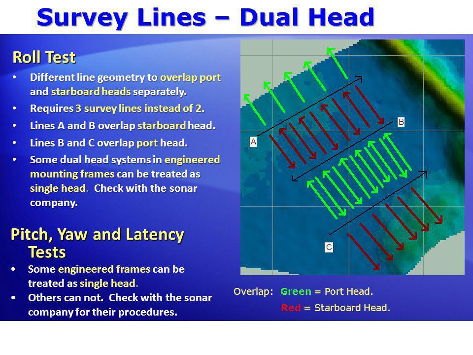 Survey Lines – Dual Head