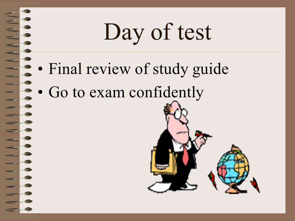 an analysis of the day of exam 2016-7-12  the purpose of the following sample examination is to provide an example of what is provided on exam day by asq,  asq will not provide scoring and analysis for.