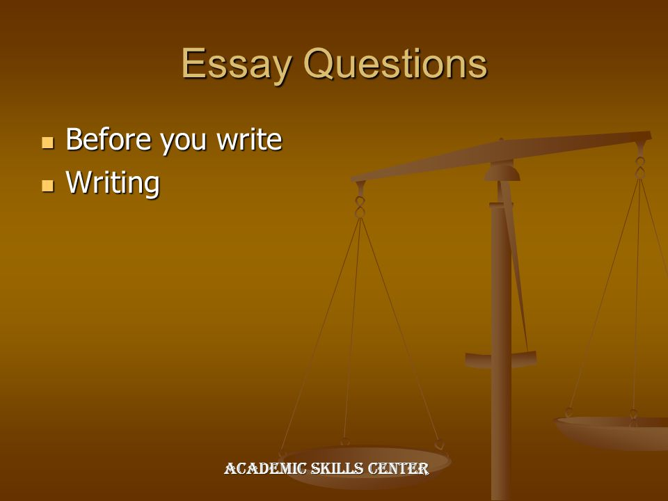 test taking strategies ppt video online  3 essay questions before you write writing academic skills center
