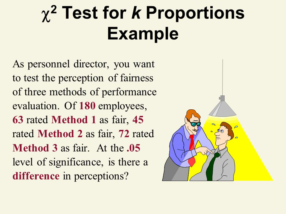 2 Test for k Proportions Example
