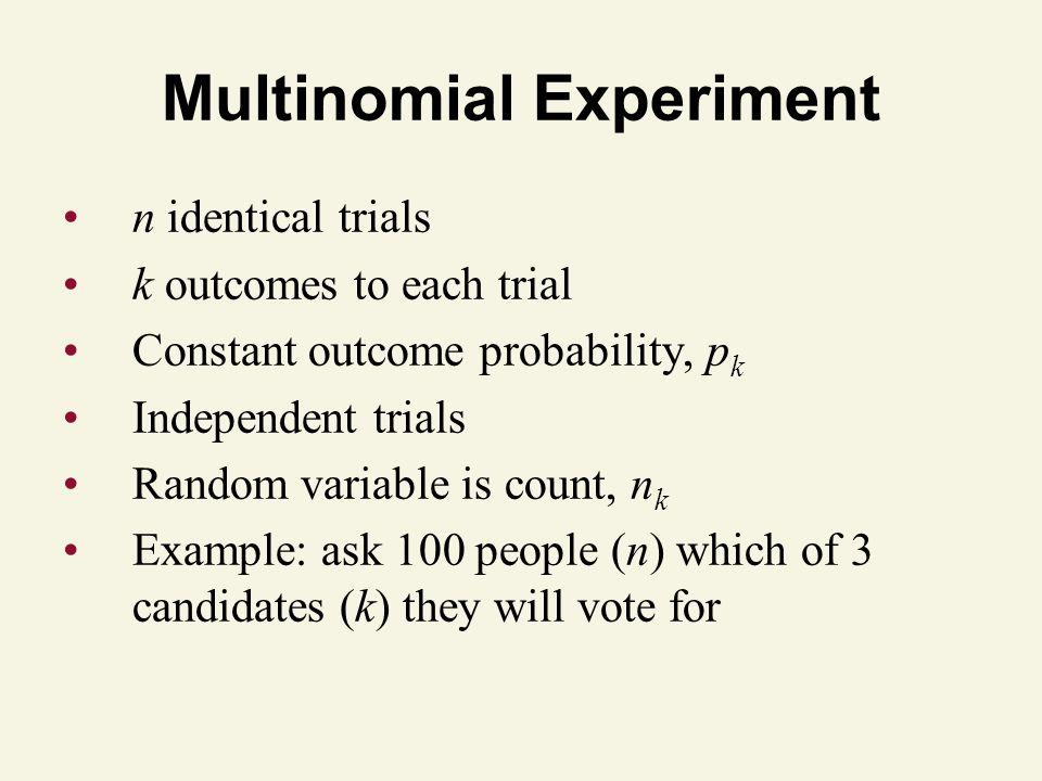 Multinomial Experiment
