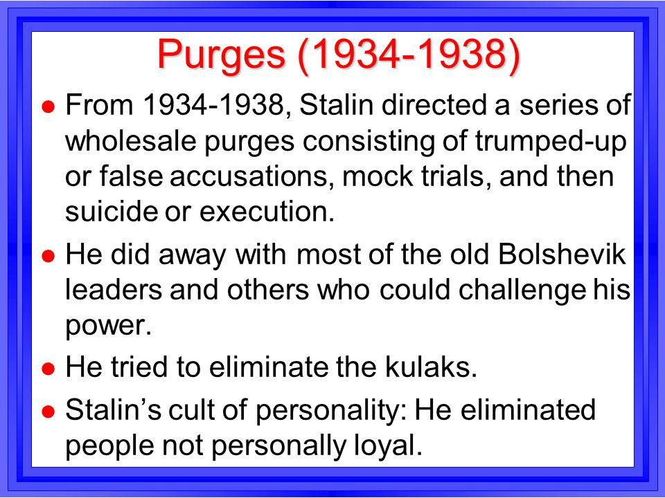 Purges (1934-1938)