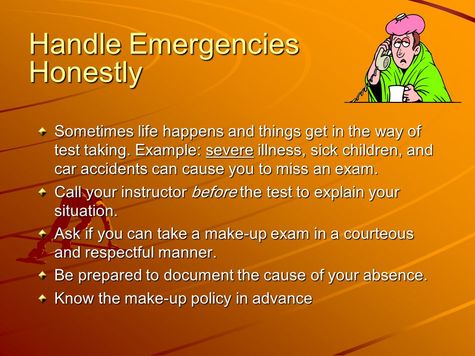 Handle Emergencies Honestly