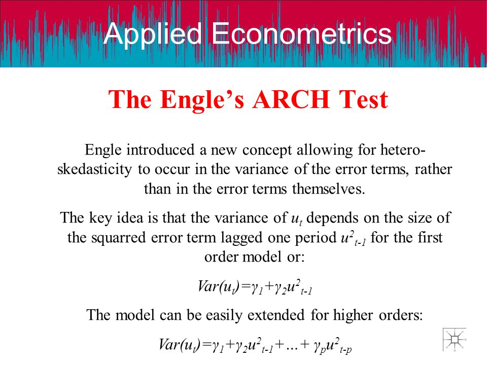 The Engle's ARCH Test