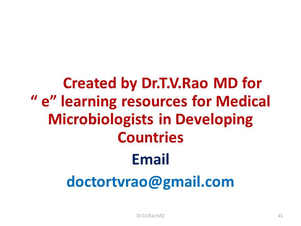 Email doctortvrao@gmail.com