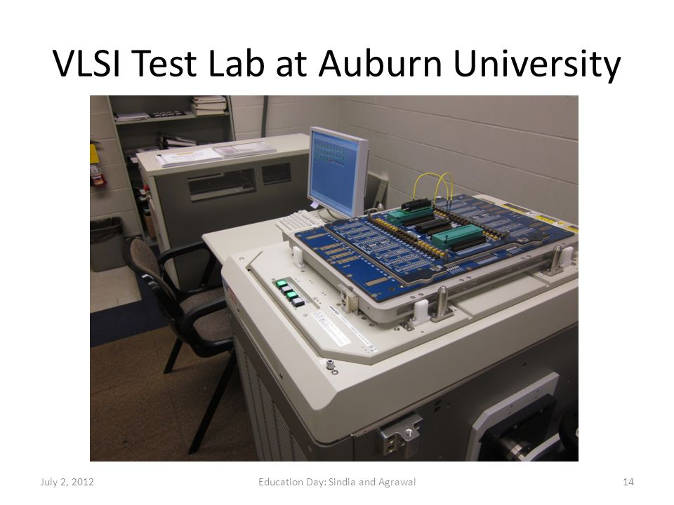 VLSI Test Lab at Auburn University