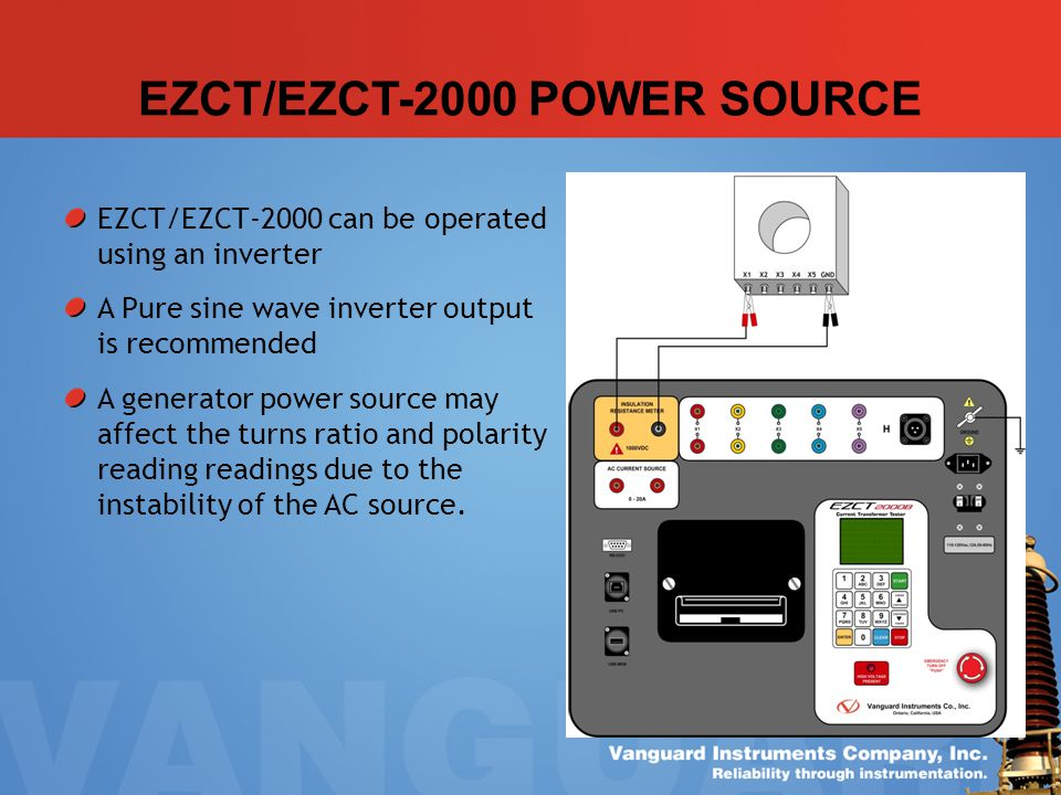 EZCT/EZCT-2000 POWER SOURCE