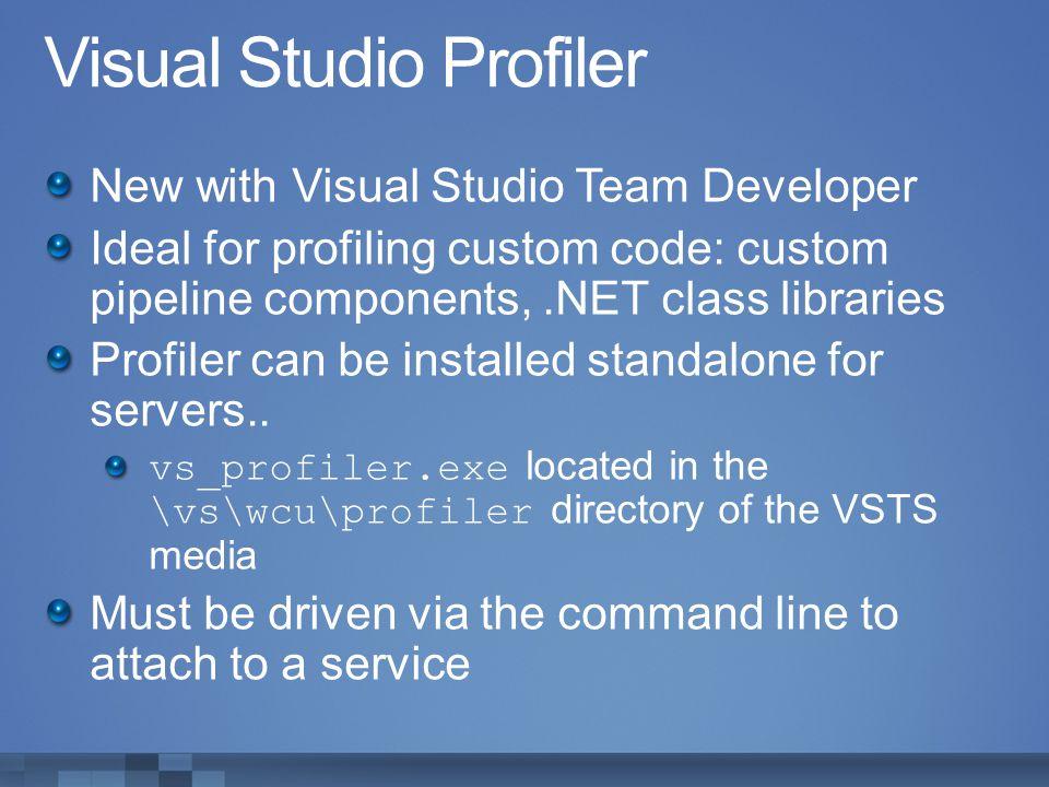 Visual Studio Profiler